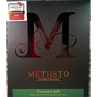 Metiisto Artisan Chocolate Tanzania 85%