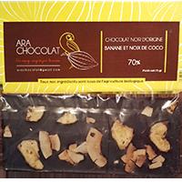 Ara Chocolat Banane et Noix de Coco 70%