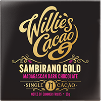 Willie's Cacao Madagascan gold Sambirano 71%