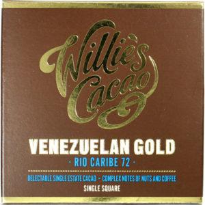 Willie's Cacao Venezuelan gold Rio Caribe 72%