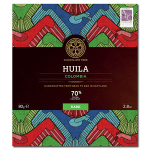 Chocolate Tree Colombia Huila 70% tumma suklaa