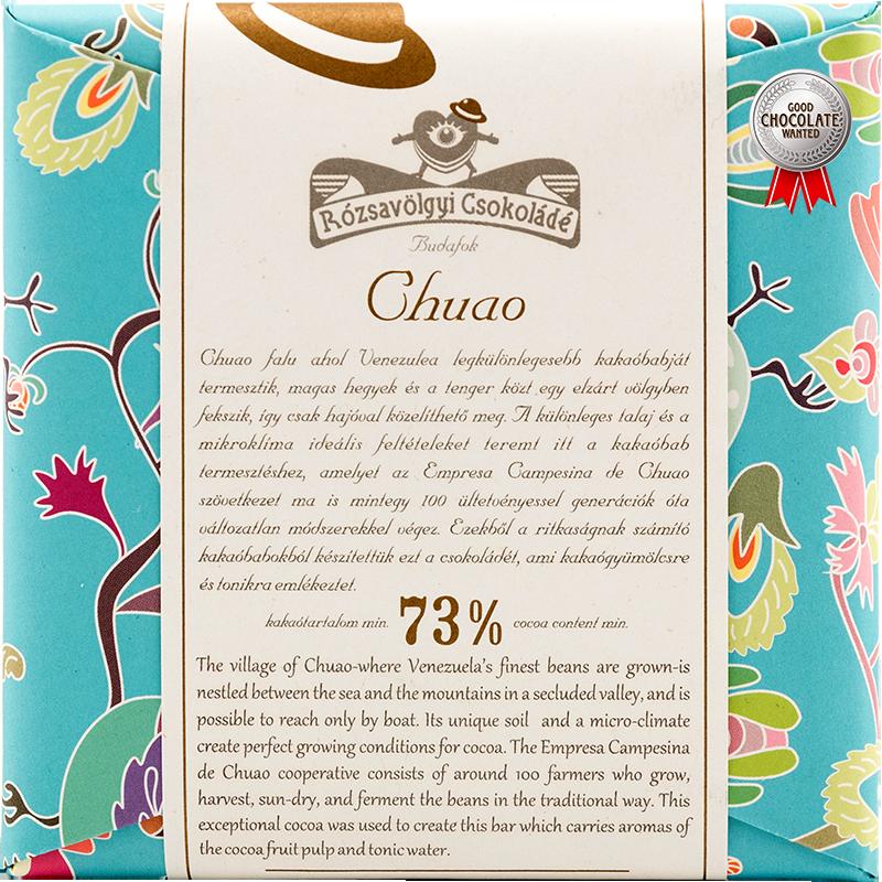 Rózsavölgyi Csokoládé Chuao Venezuela 73%