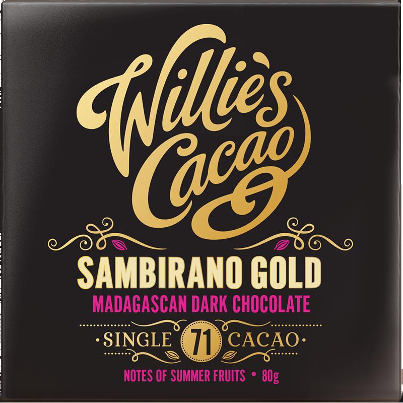 Willie's Cacao Madagascan gold Sambirano 71%