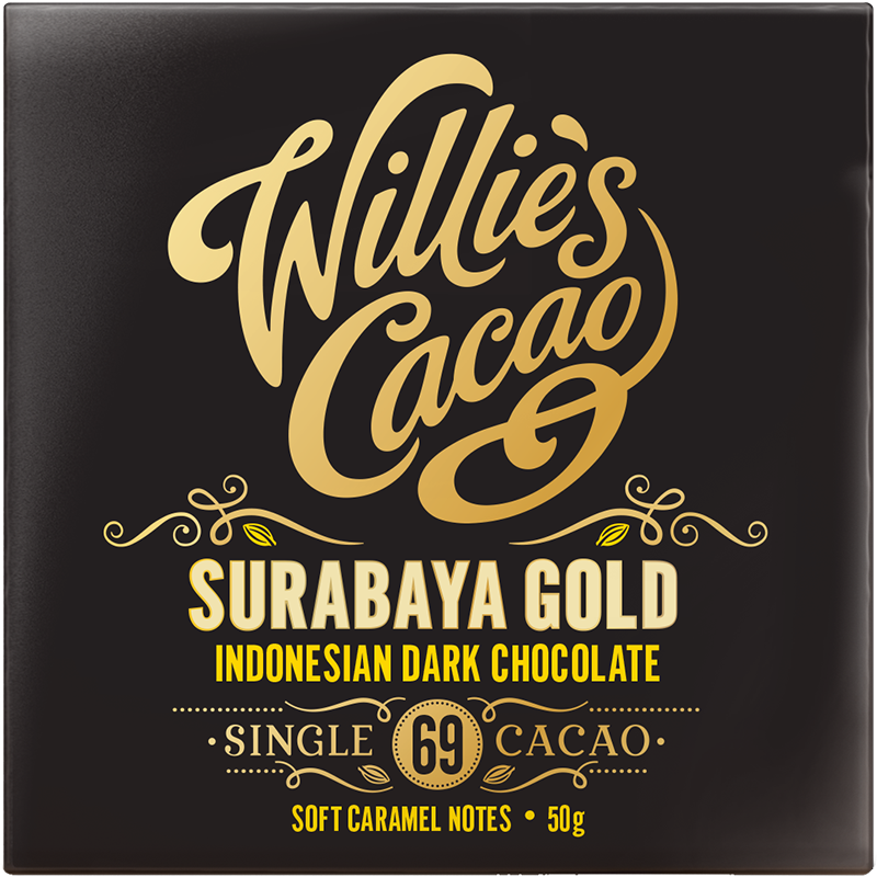 Willie's Cacao Surabaya gold 69%