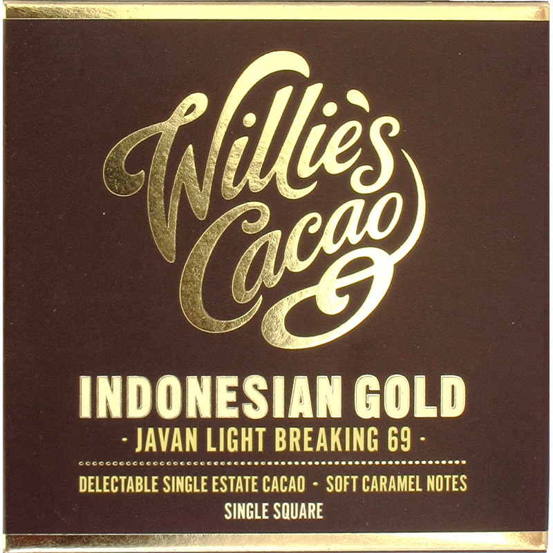 Willie's Cacao Indonesian gold 69%