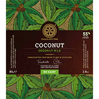 Chocolate Tree coconut milk 55%