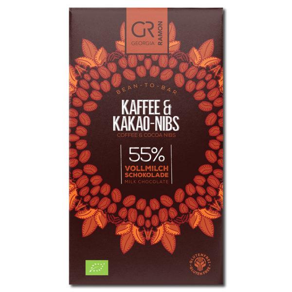 Georgia Ramon Coffee & Cocoa Nibs 55% maitosuklaa