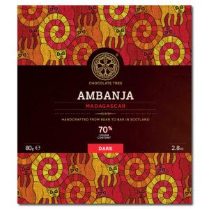 Chocolate Tree Ambanja Madagascar 70% tumma suklaa