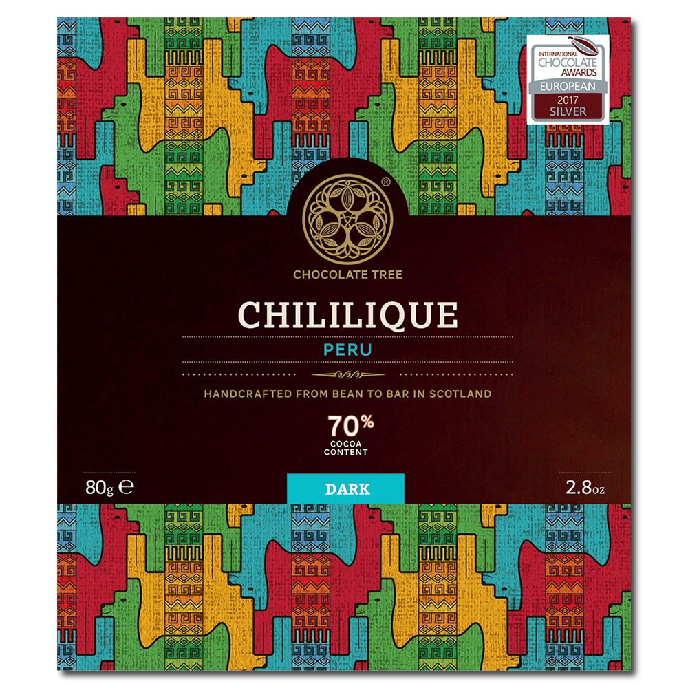 Chocolate Tree Peru Chililique 70% tumma suklaa