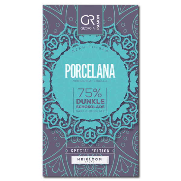 Georgia Ramon Porcelana 75% tumma suklaa