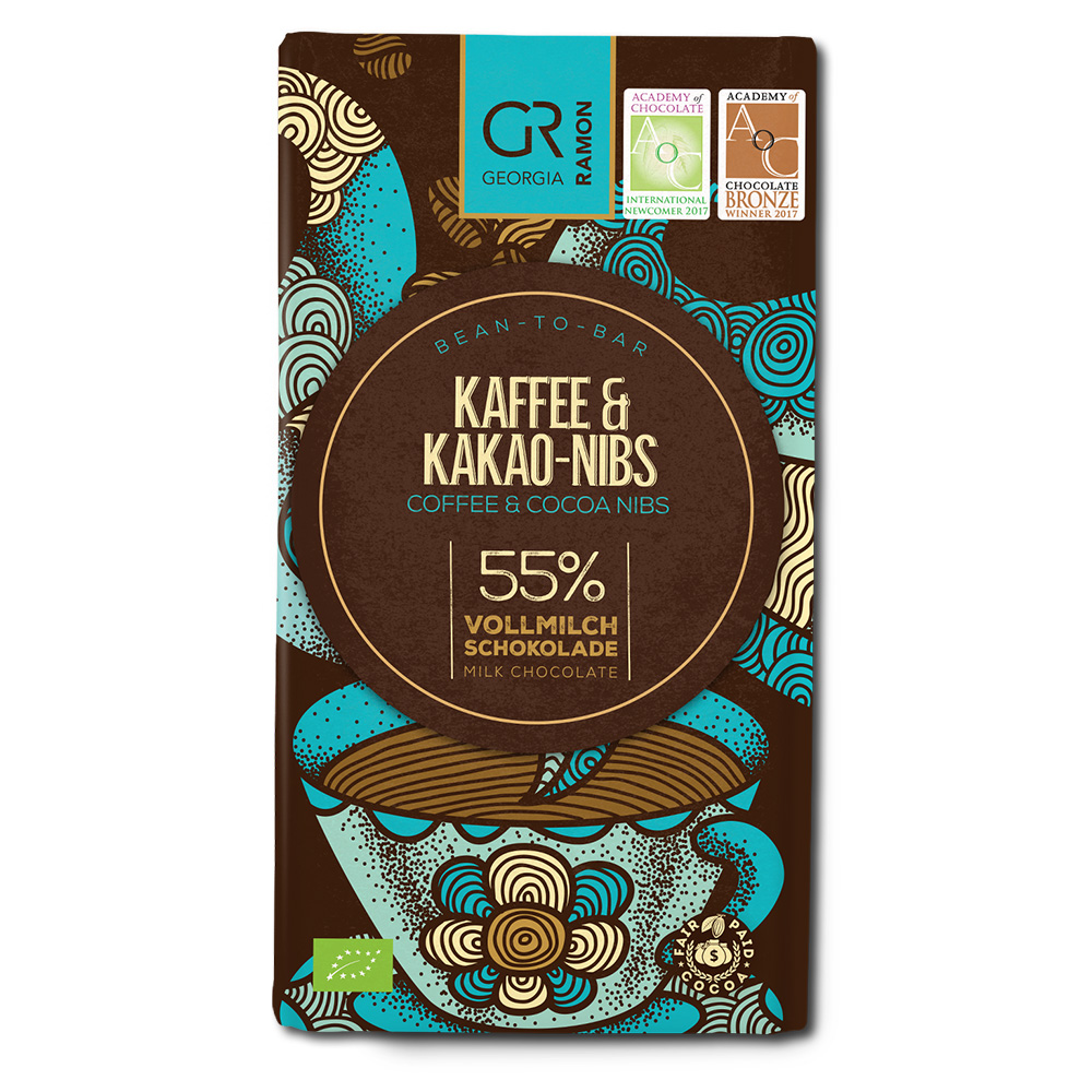Georgia Ramon Coffee & Cocoa Nibs 55%