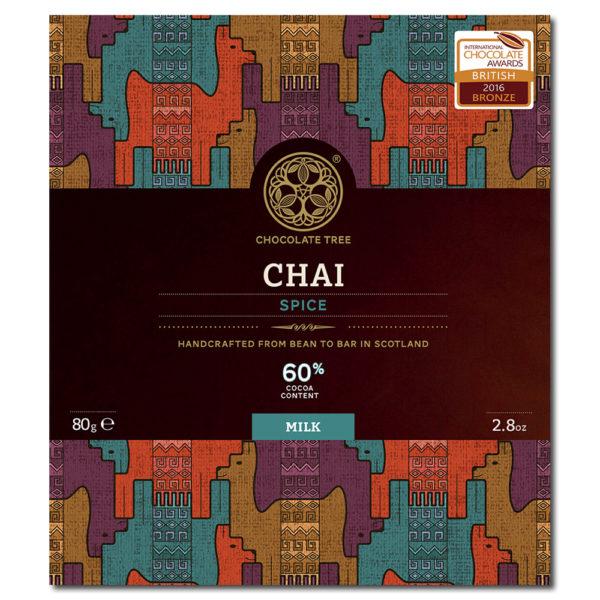 Chocolate Tree Chai Spice 60% maitosuklaa