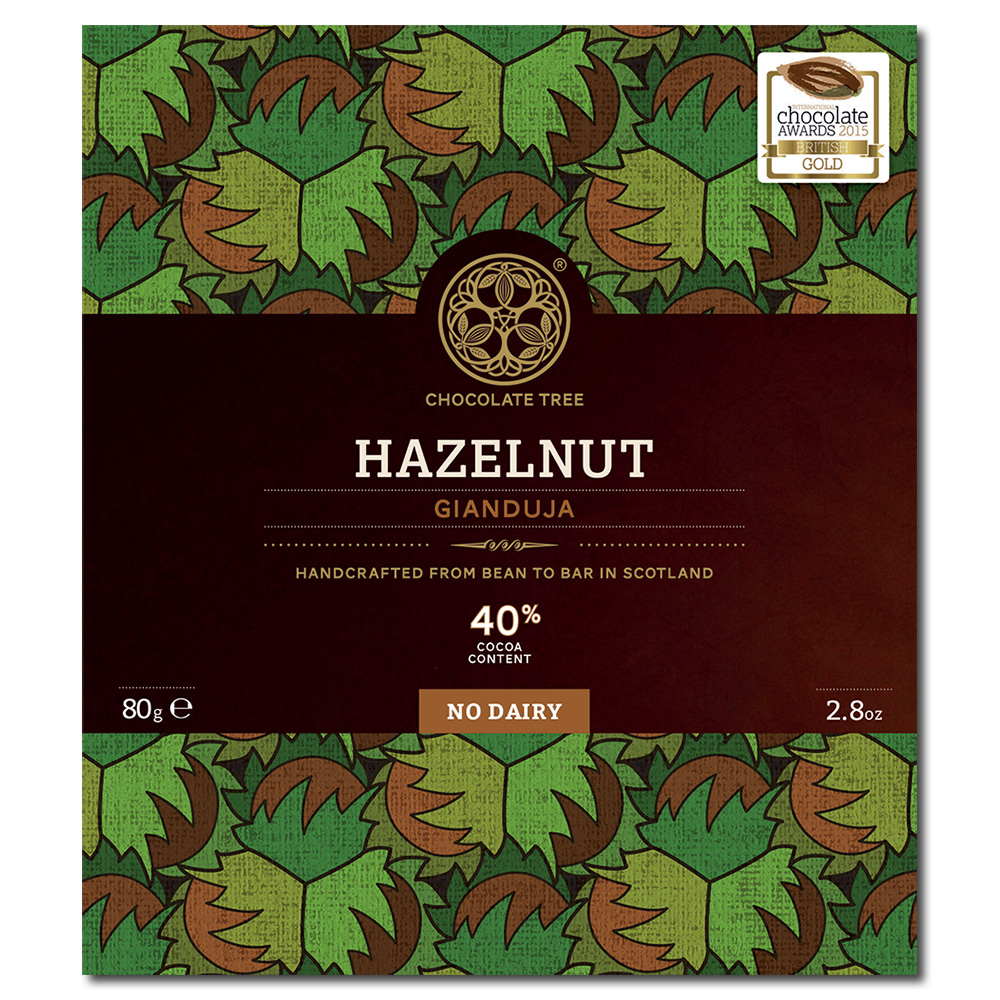 Chocolate Tree Hazelnut (Gianduja) 40%