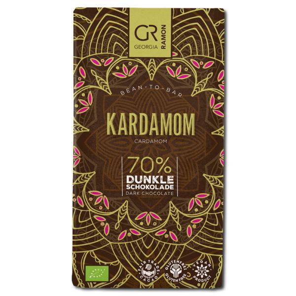 Georgia Ramon Cardamom 70% tumma suklaa
