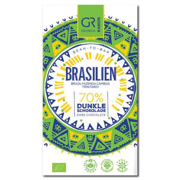 Georgia Ramon Brasilien 70% tumma suklaa
