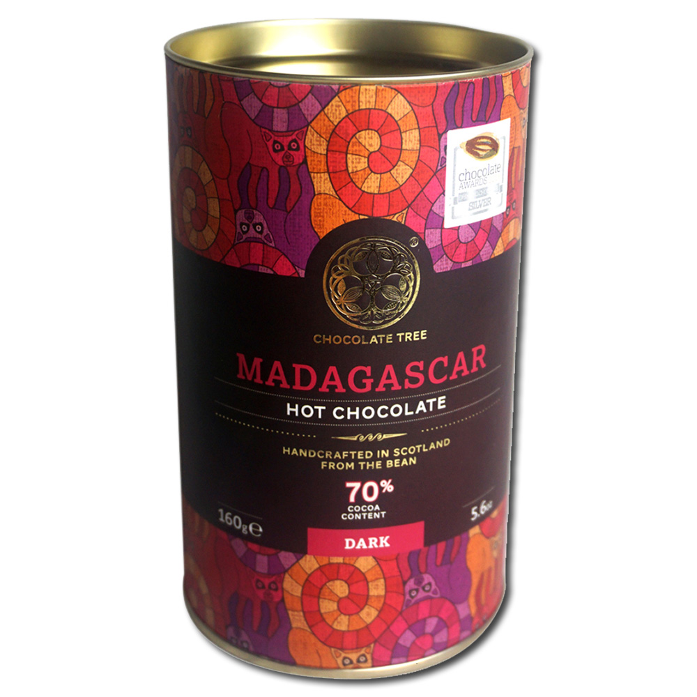 Chocolate Tree Madagascar 70% kaakaojuomahiutale