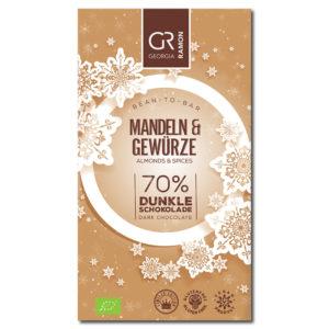 Georgia Ramon Almond & Spices 70% tumma suklaa