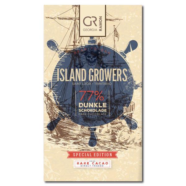 Georgia Ramon Island Growers 77% tumma suklaa