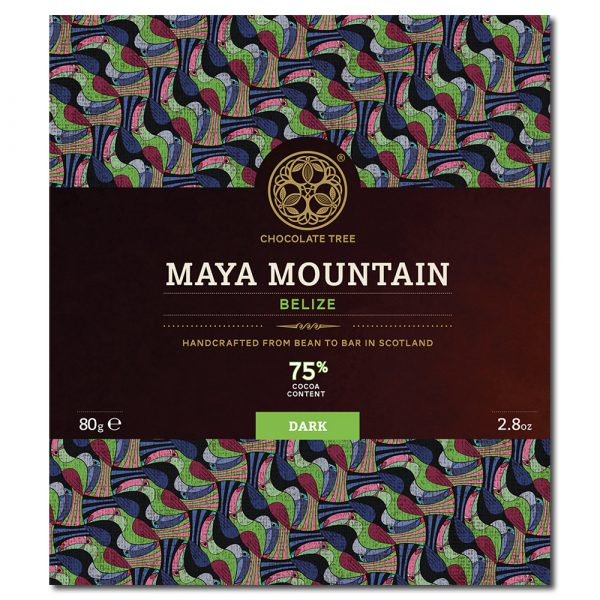Chocolate Tree Maya Mountain Belize 75% tumma suklaa
