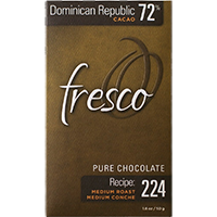 Fresco Dominican Republic 72% recipe 224