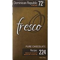 Fresco Dominican Republic 72% recipe 224
