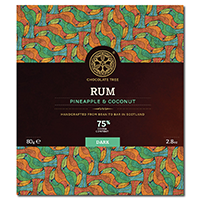 Chocolate Tree Rum Pineapple & Coconut 75%