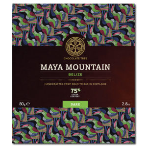 Chocolate Tree Maya Mountain Belize 75% tumma suklaa (80g)