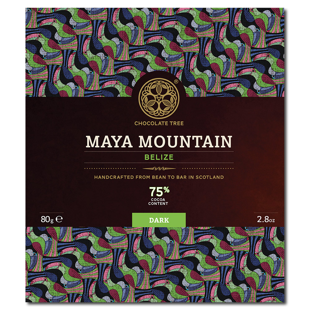 Chocolate Tree Maya Mountain Belize 75% tumma suklaa