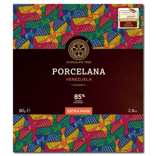 Chocolate Tree Porcelana Venezuela 85% tumma suklaa