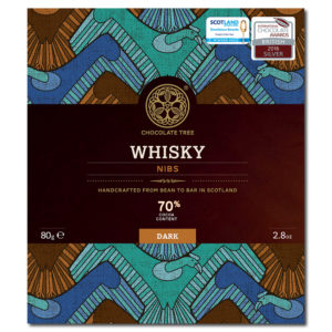 Chocolate Tree whisky nibs 70% tumma suklaa (80g)