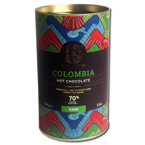 Chocolate Tree Colombia 70% kaakaojuomahiutale