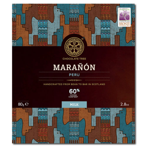 Chocolate Tree Peru Marañón Milk 60%