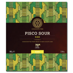 Chocolate Tree Pisco Sour Nibs 70% tumma suklaa (80g)