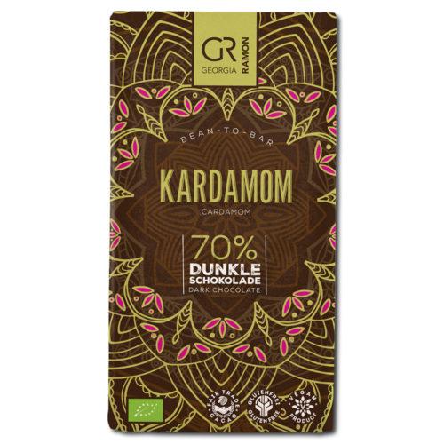 Georgia Ramon Kardamom 70% tumma suklaa