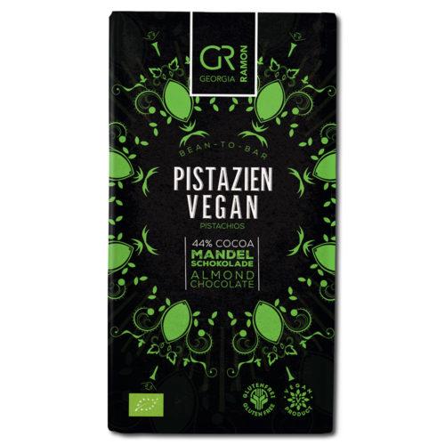 Georgia Ramon pistachio 44% vegaaninen mantelisuklaa