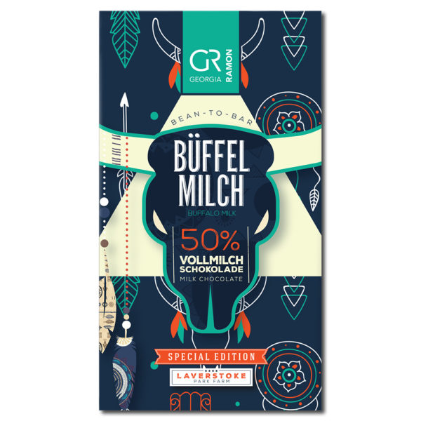 Georgia Ramon Buffalo Milk 50% maitosuklaa