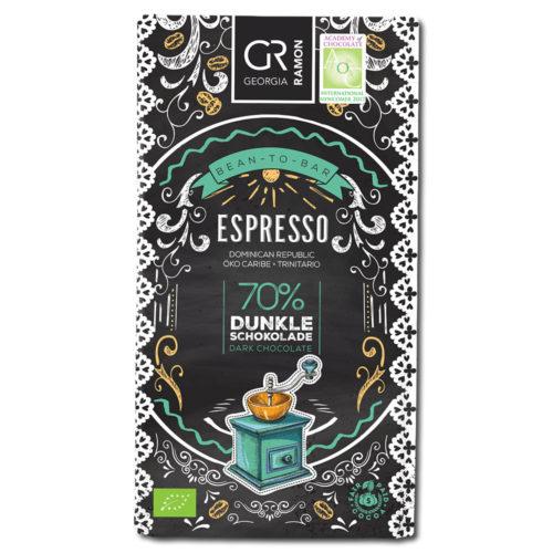 Georgia Ramon Espresso 70% tumma suklaa