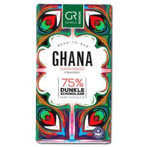 Georgia Ramon Ghana 75% tumma suklaa