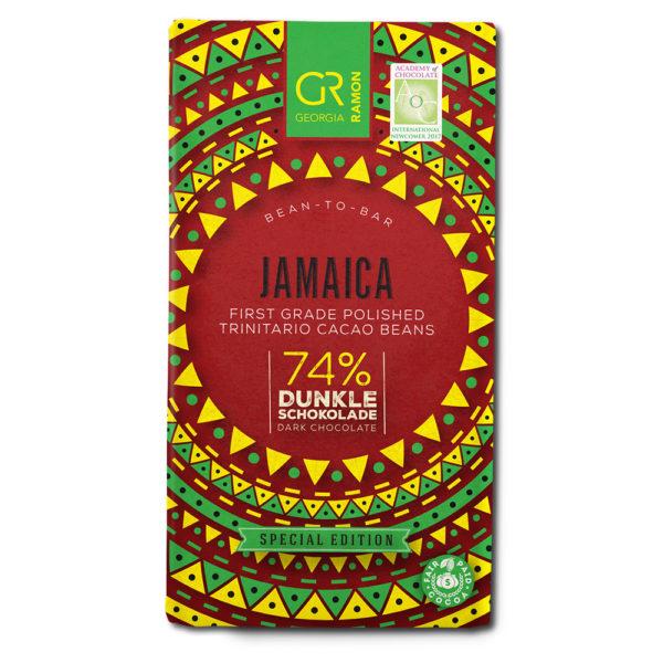 Georgia Ramon Jamaica 74% tumma suklaa