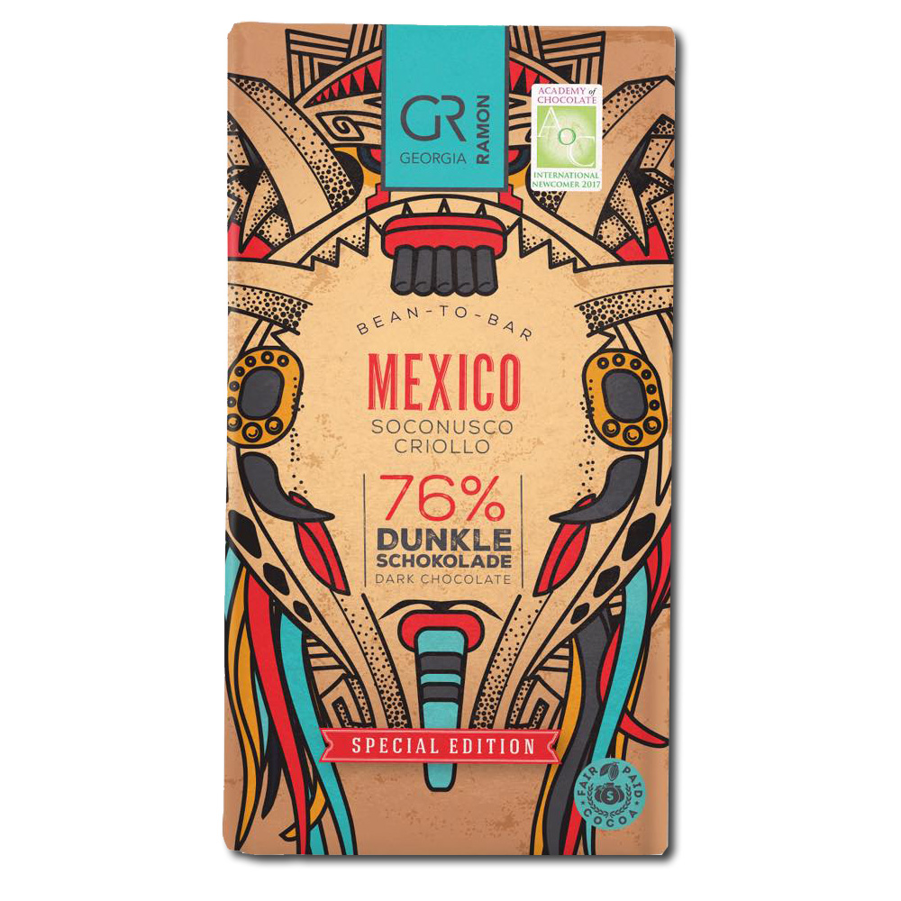 Georgia Ramon Mexico 76% tumma suklaa