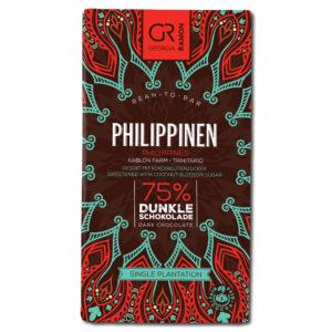 Georgia Ramon Philippines 75% tumma suklaa (kookossokeri)