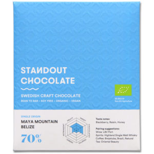 Standout Chocolate Belize Maya Mountain 70% tumma suklaa