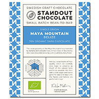 Standout Chocolate Maya Mountain Belize 70%