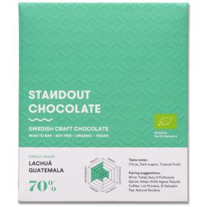 Standout Chocolate Guatemala Lachuá 70% tumma suklaa