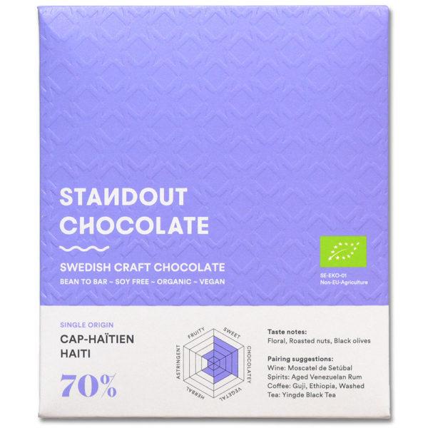 Standout Chocolate Haiti Cap-Haitïen 70% tumma suklaa