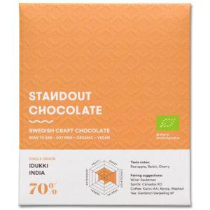 Standout Chocolate India Idukki 70% tumma suklaa