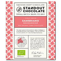 Standout Chocolate Sambirano Madagascar 70%