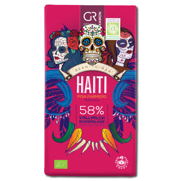 Georgia Ramon Haiti 58% maitosuklaa