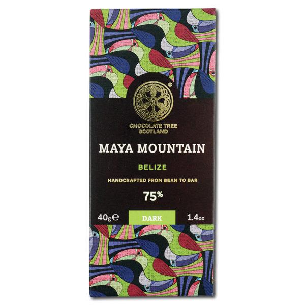 Chocolate Tree Maya Mountain Belize 75% tumma suklaa (40g) 1