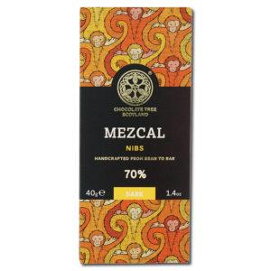 Chocolate Tree Mezcal Nibs 70% tumma suklaa (40g)